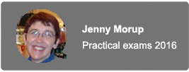 Jenny Morup Practical exams 2016